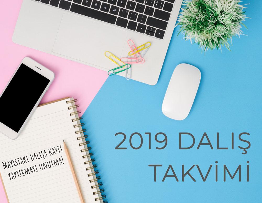 2019 Dalis Takvimi